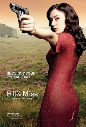 """""""Hit and Miss"""" - British Movie Poster (thumbnail)"""