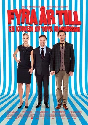 Fyra år till - Swedish Movie Poster (thumbnail)