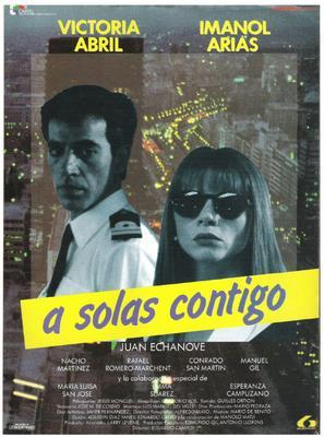 A solas contigo - Spanish Movie Poster (thumbnail)