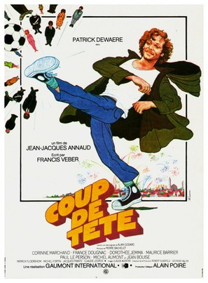 Coup de tête - French Movie Poster (thumbnail)