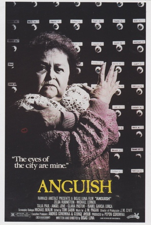 Angustia - Theatrical movie poster (thumbnail)