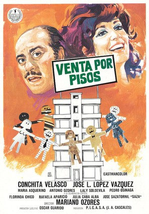 Venta por pisos - Spanish Movie Poster (thumbnail)