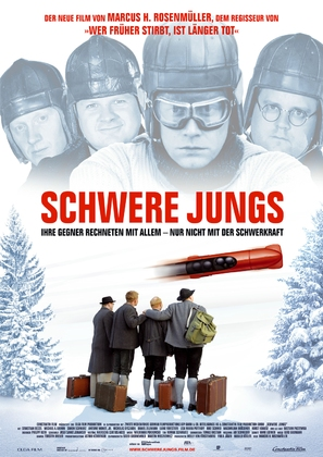 Schwere Jungs - German Movie Poster (thumbnail)