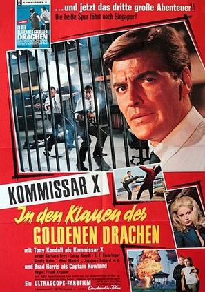 Kommissar X - In den Klauen des goldenen Drachen - German Movie Poster (thumbnail)