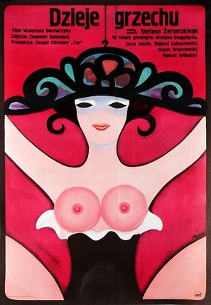 Dzieje grzechu - Polish Movie Poster (thumbnail)