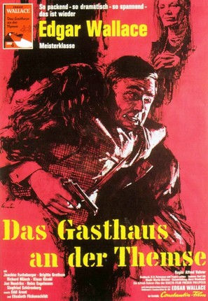 Das Gasthaus an der Themse - German Movie Poster (thumbnail)