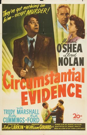 Circumstantial Evidence - Movie Poster (thumbnail)