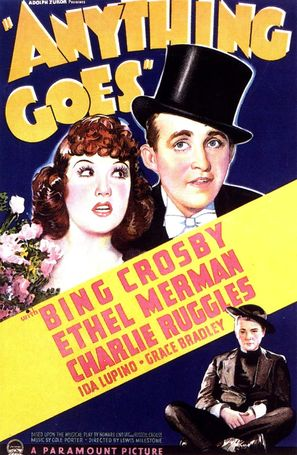 Anything Goes - Theatrical movie poster (thumbnail)