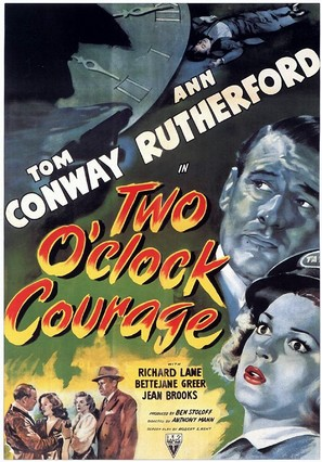 Two O'Clock Courage - Movie Poster (thumbnail)