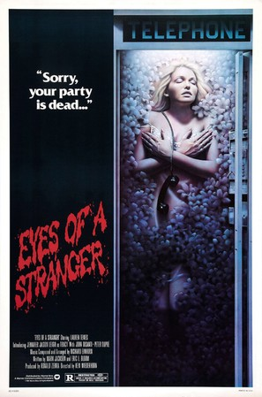 Eyes of a Stranger - Movie Poster (thumbnail)