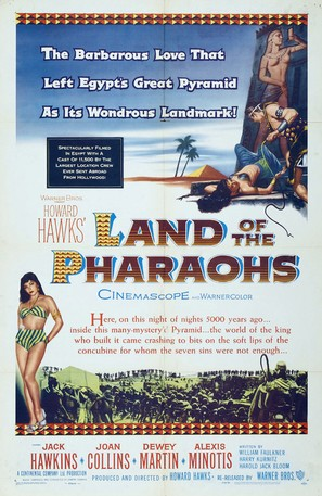 Land of the Pharaohs - Movie Poster (thumbnail)