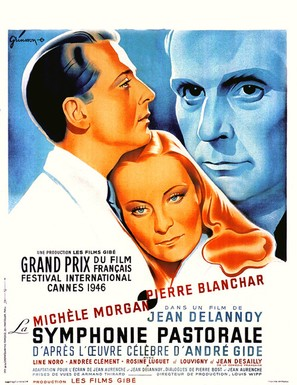 La symphonie pastorale - French Movie Poster (thumbnail)
