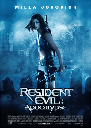 Resident Evil: Apocalypse - German Movie Poster (thumbnail)