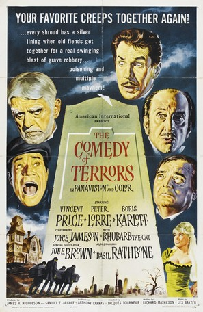 The Comedy of Terrors - Movie Poster (thumbnail)
