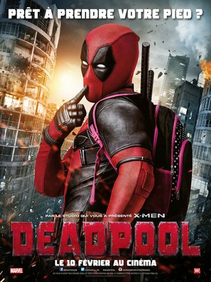 Deadpool - French Movie Poster (thumbnail)