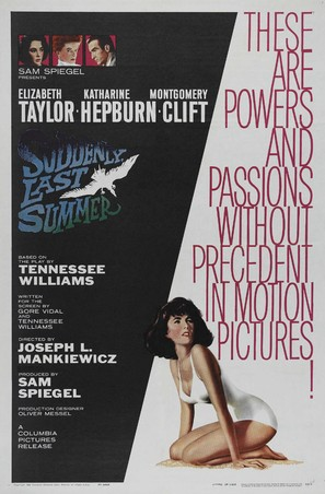 Suddenly, Last Summer - Movie Poster (thumbnail)