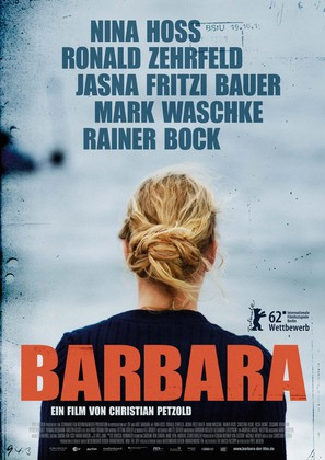 Barbara - German Movie Poster (thumbnail)