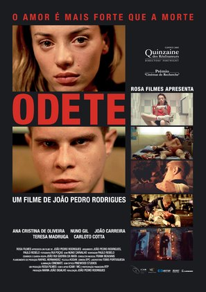Odete - Portuguese Movie Poster (thumbnail)