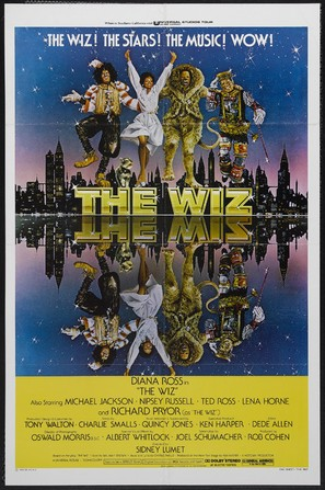 The Wiz - Movie Poster (thumbnail)