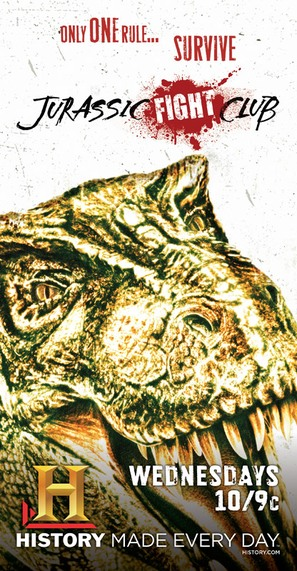 """Jurassic Fight Club"" - Movie Poster (thumbnail)"