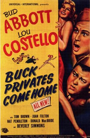 Buck Privates Come Home - Movie Poster (thumbnail)