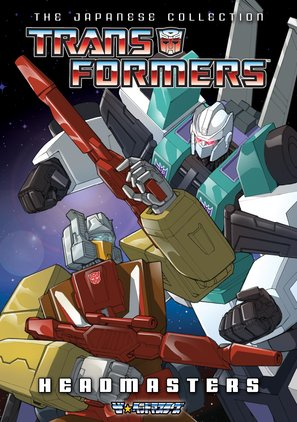 """""""Transformers: The Headmasters"""" - DVD movie cover (thumbnail)"""