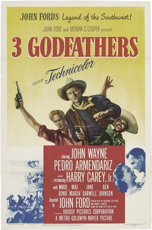 3 Godfathers - Movie Poster (thumbnail)