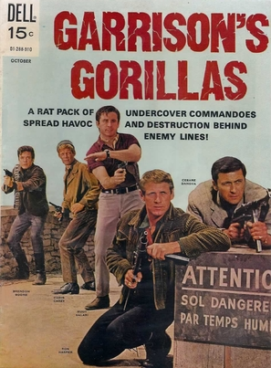 """Garrison's Gorillas"" - Movie Poster (thumbnail)"
