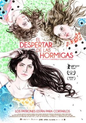 El despertar de las hormigas - Spanish Movie Poster (thumbnail)