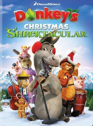 Donkey's Christmas Shrektacular - DVD movie cover (thumbnail)