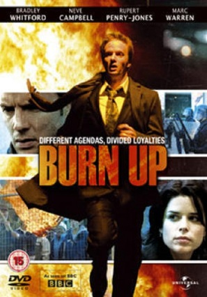 """Burn Up"" - British DVD cover (thumbnail)"