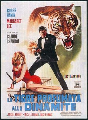 Le Tigre se parfume à la dynamite - French Movie Poster (thumbnail)