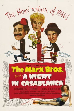A Night in Casablanca - Movie Poster (thumbnail)