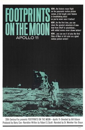 Footprints on the Moon: Apollo 11 - Movie Poster (thumbnail)