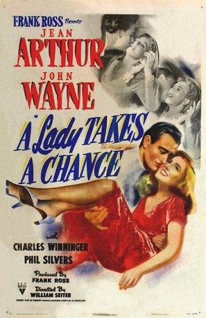 A Lady Takes a Chance - Movie Poster (thumbnail)