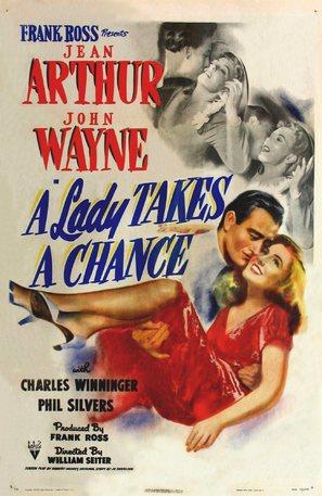 A Lady Takes a Chance - Movie Poster (thumbnail)