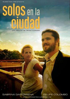 Solos en la ciudad - Argentinian Movie Poster (thumbnail)