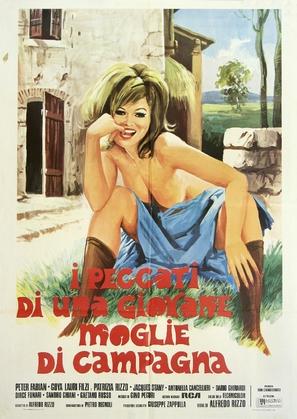 Peccati di una giovane moglie di campagna - Italian Movie Poster (thumbnail)