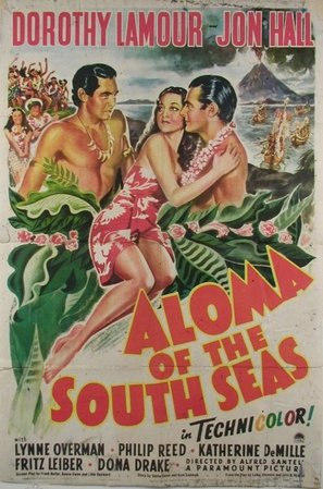 Aloma of the South Seas - Movie Poster (thumbnail)
