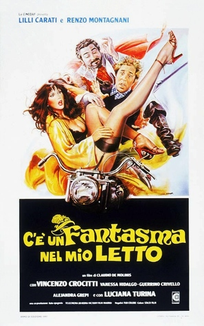 C'è un fantasma nel mio letto - Italian Movie Poster (thumbnail)