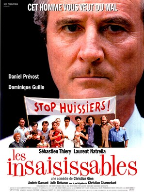 Insaisissables, Les - French poster (thumbnail)