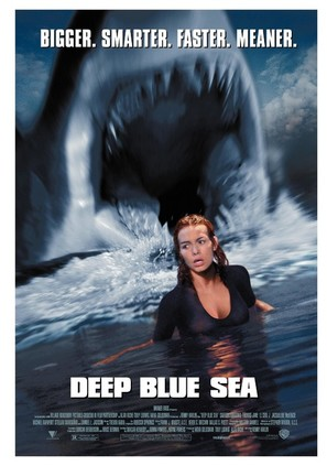 Deep Blue Sea - Movie Poster (thumbnail)