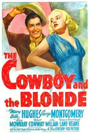 The Cowboy and the Blonde - Movie Poster (thumbnail)