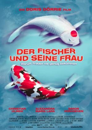 Der Fischer und seine Frau - German Movie Poster (thumbnail)