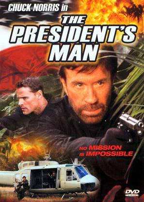 The President's Man - DVD cover (thumbnail)