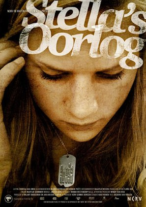 Stella's oorlog - Dutch Movie Poster (thumbnail)