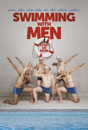 Swimming with Men - British Movie Poster (thumbnail)
