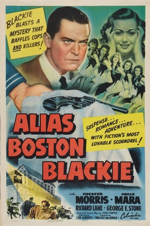 Alias Boston Blackie - Movie Poster (thumbnail)