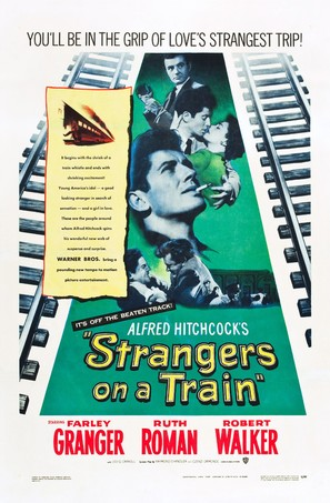 Strangers on a Train - Theatrical poster (thumbnail)