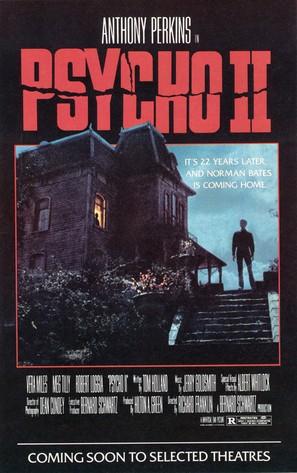 Psycho II - Movie Poster (thumbnail)